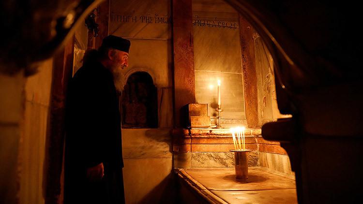 La 'resucitada' tumba de Cristo reabre para el público