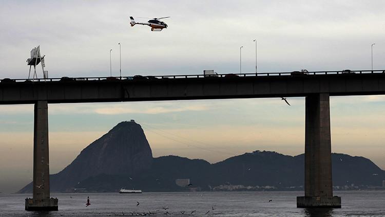 Brasil: Detienen a delincuente responsable del asalto a un bus y el secuestro de varios rehenes