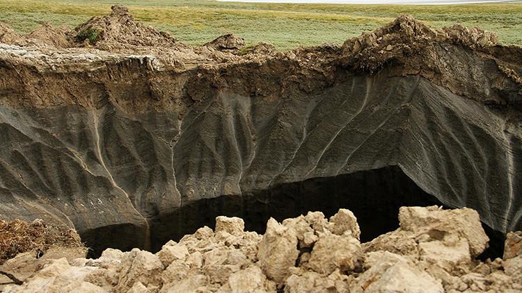 Se forman en Siberia 7.000 burbujas de gas (y podrían explotar en cualquier momento)