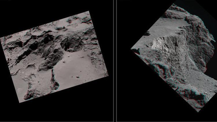 Fotos: Una inusual metamorfosis en el cometa Churyumov-Gerasimenko revela por primera vez su núcleo