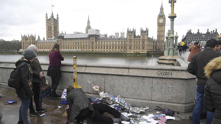 FUERTES IMÁGENES: Terror en el corazón de Londres