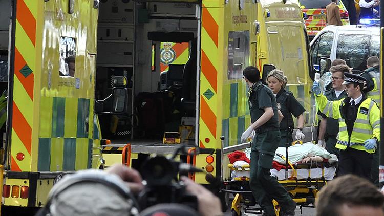 Publican las primeras imágenes del supuesto atacante de Londres (FOTO)