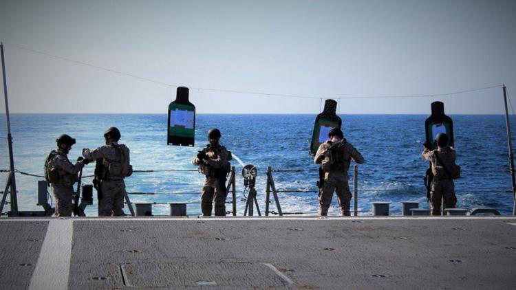 """""""El mayor despliegue naval militar en las últimas décadas"""": La Armada española, en cinco continentes"""
