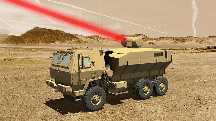 El Ejército de EE.UU. ensayará la tecnología láser más potente jamás probada en vehículos pesados