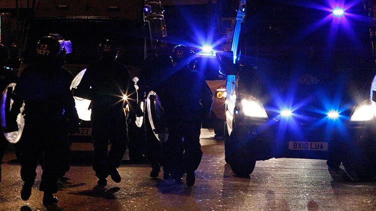 """Reino Unido: Una """"gran"""" redada policial en Birmingham"""