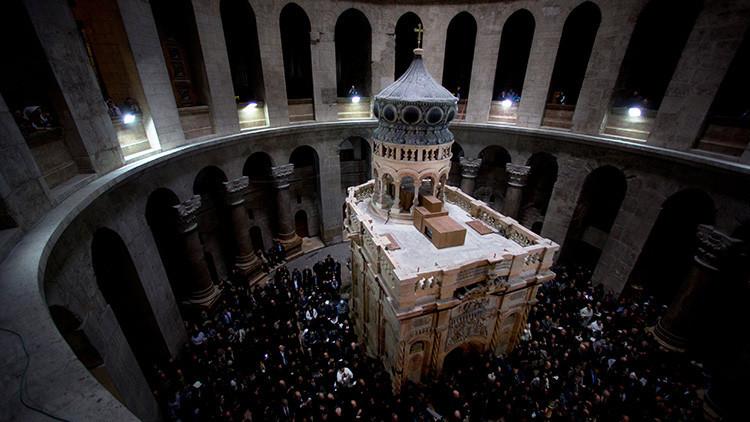 """La tumba de Cristo podría sufrir un """"derrumbe catastrófico"""""""
