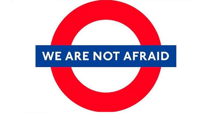 Los londinenses plantan cara a la amenaza terrorista con un mensaje rotundo