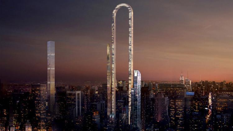 Así será el increíble rascacielos 'doblado' que se levantará en Nueva York (FOTOS)