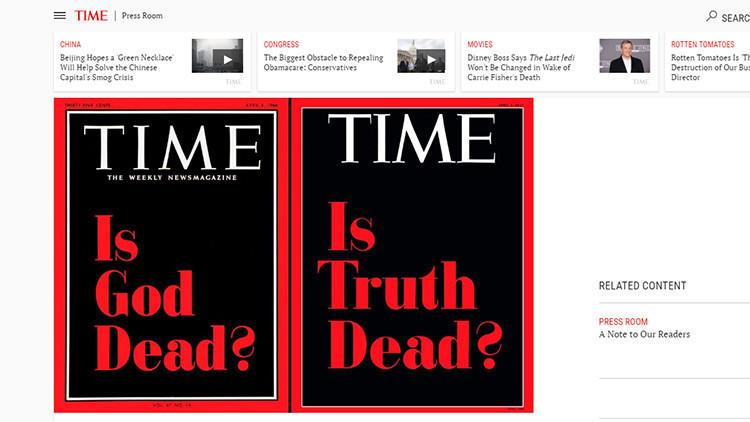 La revista 'Time' se atreve a lanzar la pregunta que todos tenemos en mente