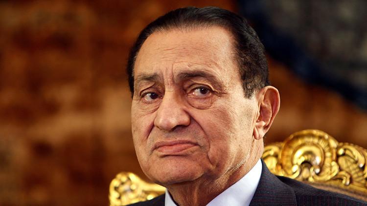 Liberan a Hosni Mubarak, expresidente de Egipto