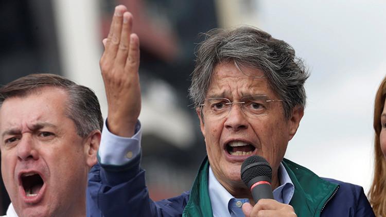 """Apuro electoral: El """"pequeño banco"""" que compromete al candidato Lasso en Ecuador"""