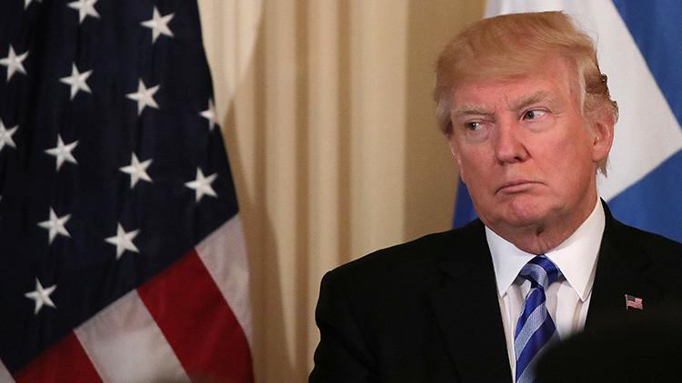 El incómodo momento de la conversación de Trump con el presidente del Consejo Europeo