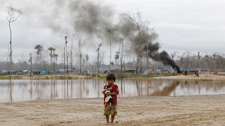 Perú: La política, bañada de oro ilegal