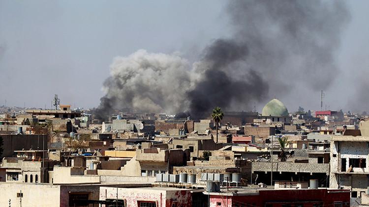 EE.UU. confirma un bombardeo de la coalición en Mosul que dejó víctimas entre los civiles
