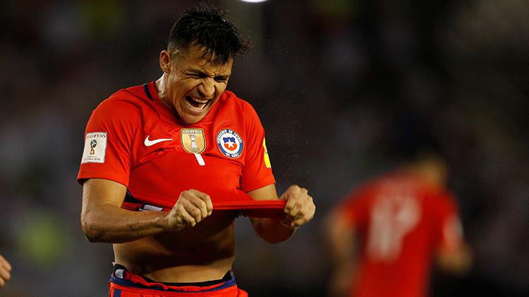 Multan al futbolista Alexis Sánchez por exceso de velocidad