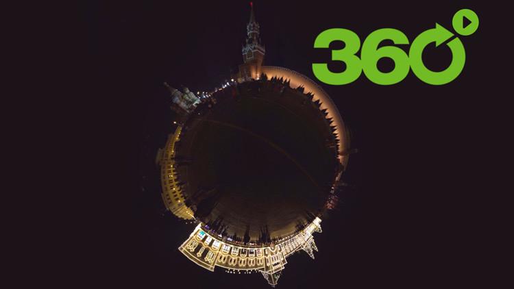 La Hora del Planeta en 360º: Moscú apaga la luz y se une al 'flash mob' mundial