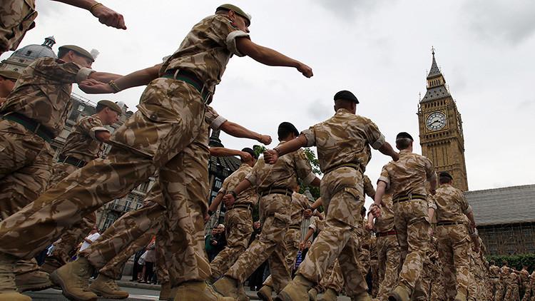 Reino Unido decide desplegar tropas especiales en las calles de Londres con carácter permanente