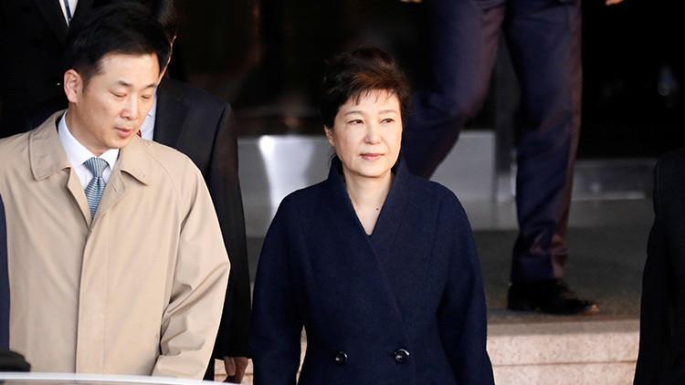 La Fiscalía de Corea del Sur pedirá una orden de arresto contra la expresidenta Park Geun-hye