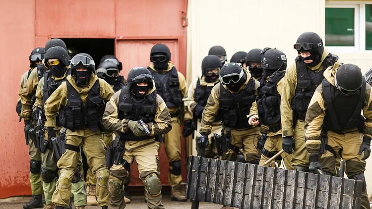 La Guardia Nacional de Rusia celebra su primer aniversario
