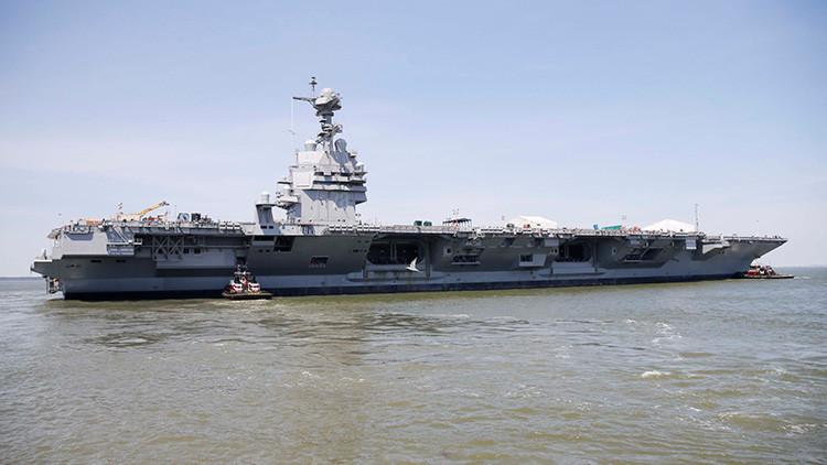 Las cinco formas con las que Rusia y China podrían exterminar a los portaaviones de EE.UU.