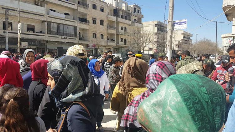 La ciudad siria de Manbij, controlada por los kurdos, ahora teme la invasión turca (Exclusiva)