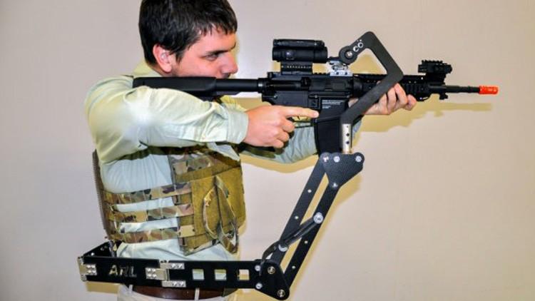 Soldados de EE.UU. dispondrán de un 'tercer brazo' para combatir