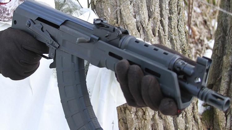 EE.UU: Salen al mercado dos modelos de pistola inspiradas en el fusil Kaláshnikov