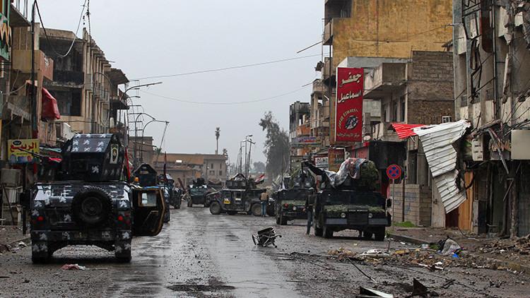 Hallan más de cien cuerpos sin vida de civiles en un barrio bombardeado en Mosul