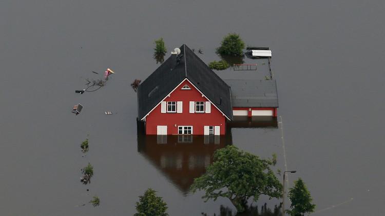 Científicos predicen una 'inundación del siglo' que afectaría a millones de europeos