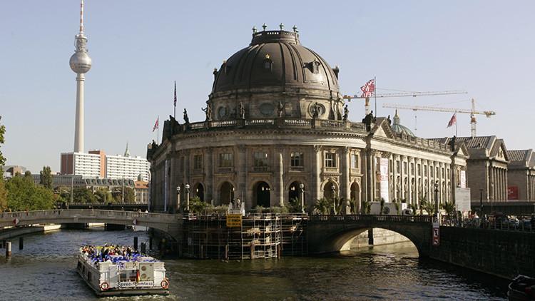 Roban en Berlín una moneda de oro de un millón de dólares (foto)