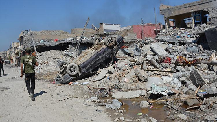 """EE.UU. no modificará las """"buenas"""" reglas de su operación en Irak tras los bombardeos en Mosul"""