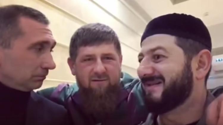 El líder de Chechenia envía un videomensaje de burla a la OTAN (Video)