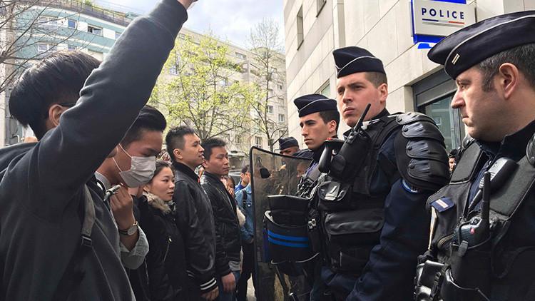 Pekín exige explicaciones a París por la muerte de un ciudadano chino a manos de la Policía