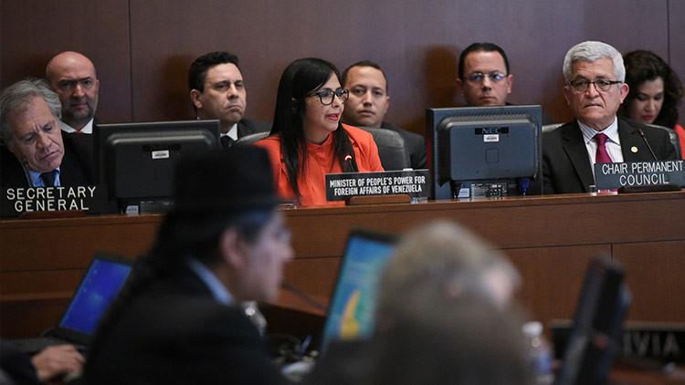 OEA decide discutir situación de Venezuela sin su consentimiento