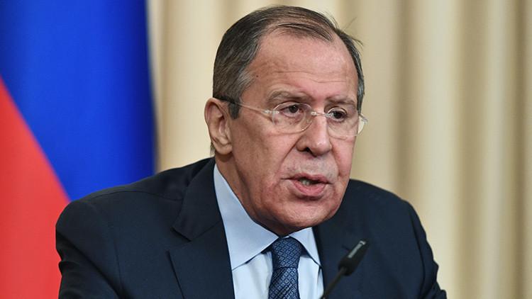 """Lavrov: """"Las afirmaciones de los países bálticos sobre la supuesta 'amenaza rusa' son absurdas"""""""
