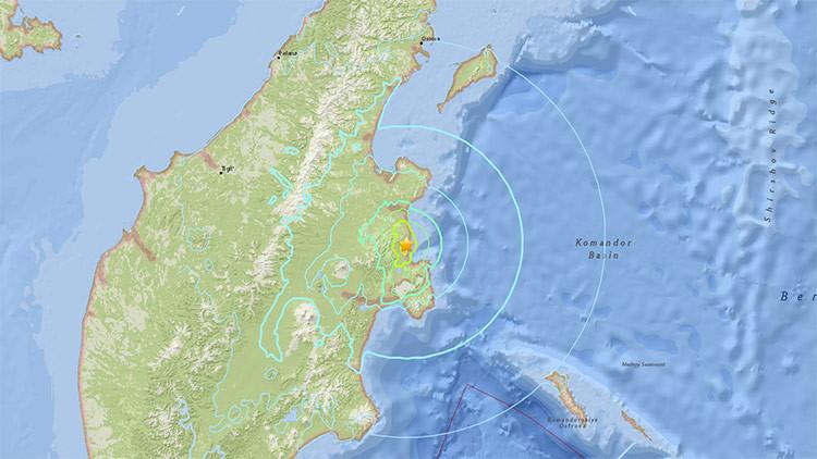 Un sismo de magnitud 6,6 sacude el Oriente Lejano ruso