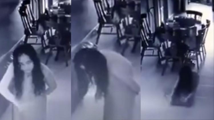 """""""Poseída por espíritus"""": Una empleada del hogar que hace movimientos extraños enloquece a la Red"""