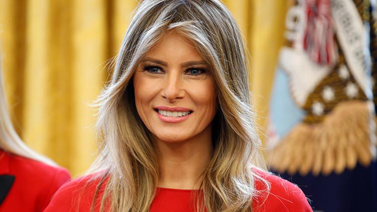 Piden que Melania Trump se mude a la Casa Blanca o se pague ella misma su seguridad en Nueva York