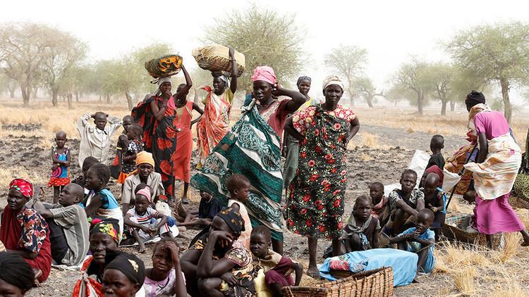 Más de 100.000 personas mueren de hambre en Sudán del Sur
