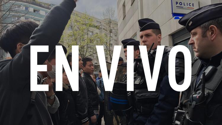 Disturbios por la brutalidad policial en París continúan por tercer día consecutivo