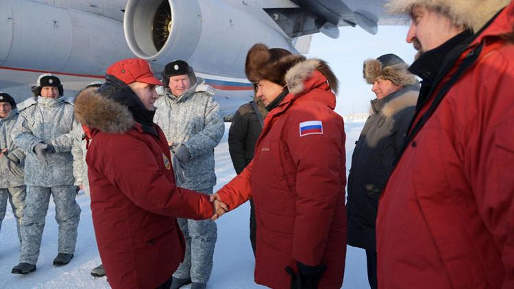El porqué de la visita de Putin a este remoto archipiélago en el extremo norte ruso (VIDEO)