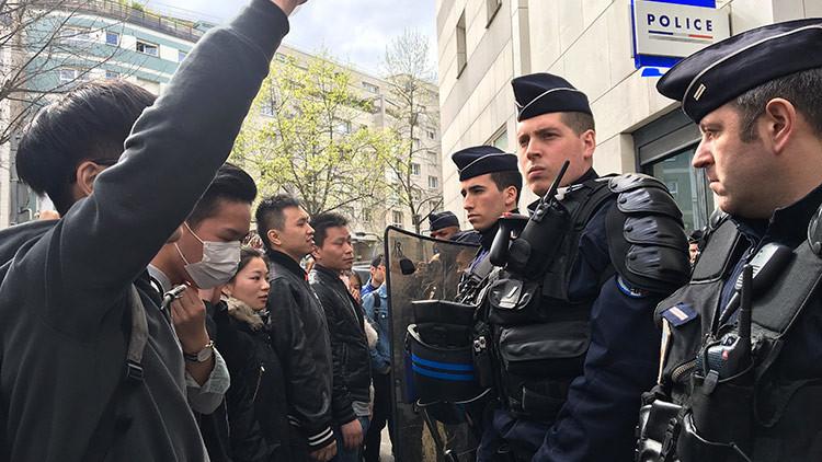 Los disturbios por la brutalidad policial en París continúan por tercera noche consecutiva (VIDEO)