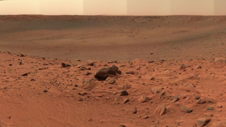 Revelan por qué Marte es de color rojo
