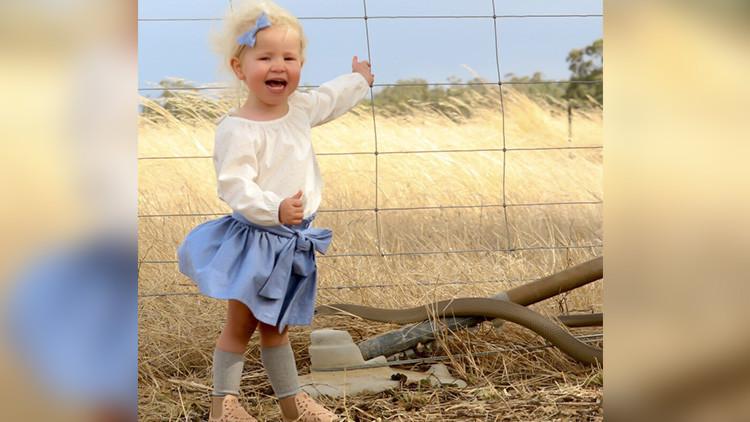 """Casi me da un ataque"": Una madre percibe un peligro mortal al fotografiar a su hija"