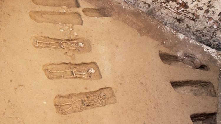 Un cementerio medieval descubierto en Roma revelala persecución de los judíos