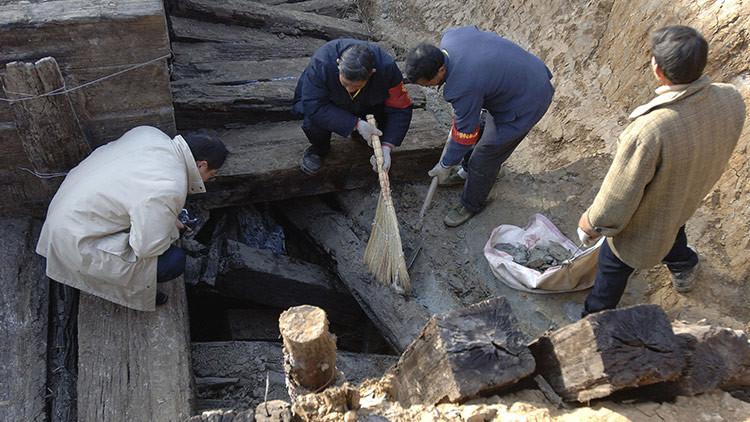 Hallan en China ruinas de una ciudad oasis de 2.000 años (FOTOS)