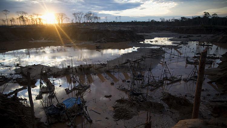 EE.UU., puerto final del oro ilegal peruano