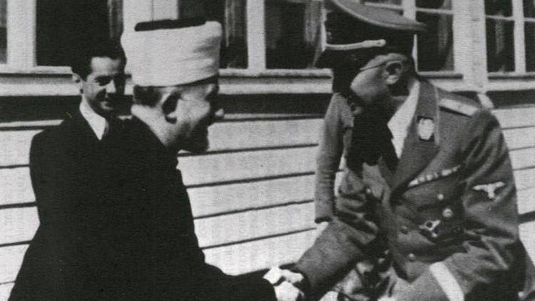 """""""Que le vaya bien contra los invasores judíos"""": hallan carta de Himmler al gran muftí palestino"""