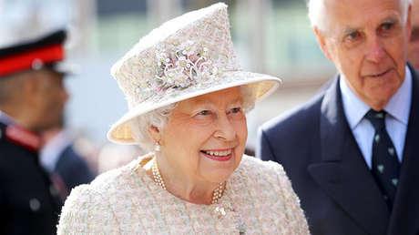 La reina Isabel II de Reino Unido.