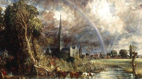 'La catedral de Salisbury vista a través de los campos' de John Constable, 1831